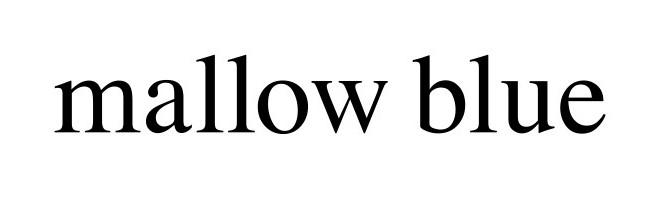 mallow blue